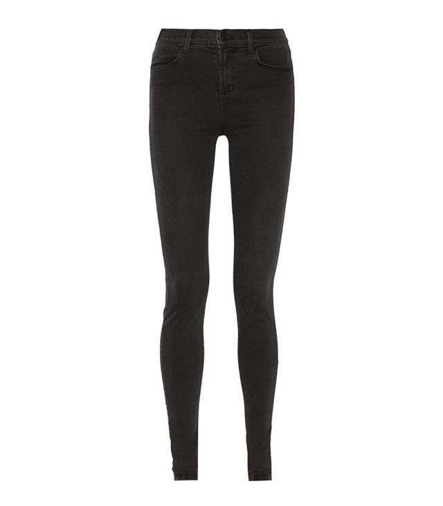 J Brand Jess Photo Ready High-Rise Stacked Skinny Jeans