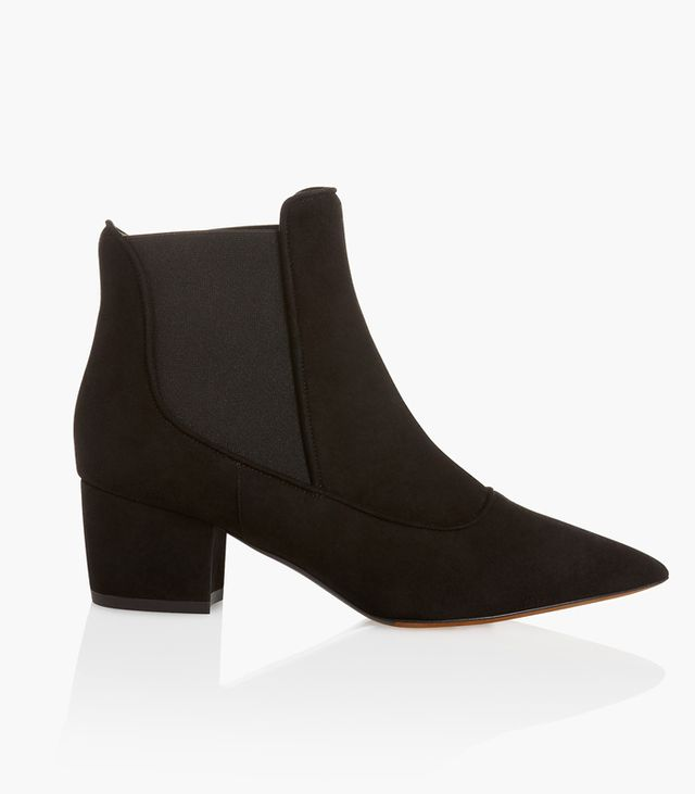 Tabitha Simmons Pointed Chelsea Bootie with Elastic Sides