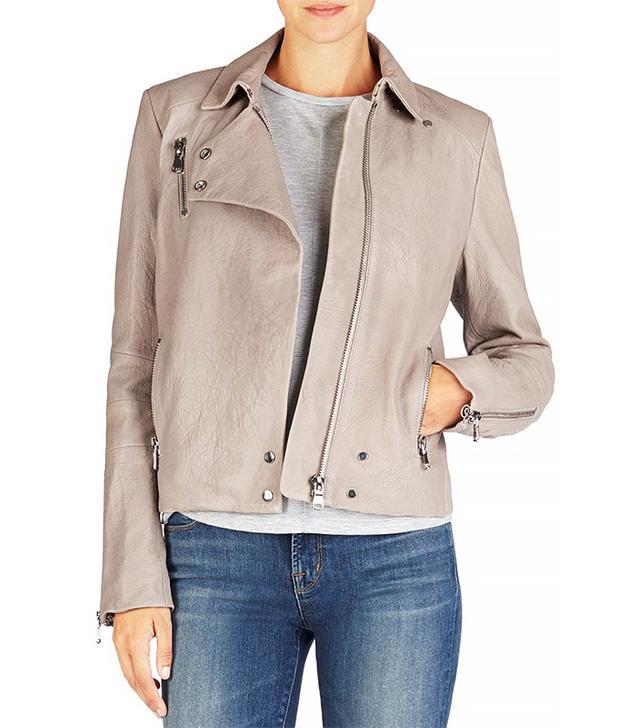 J Brand Lais Leather Jacket