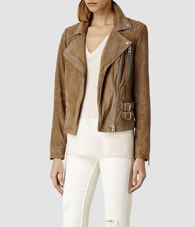 AllSaints Mason Leather Biker Jacket