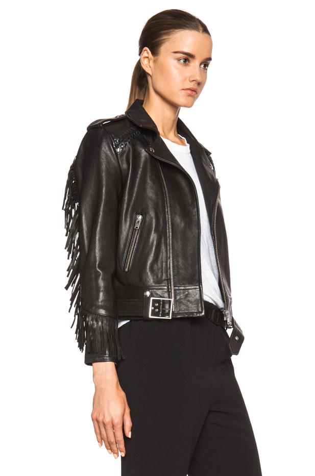Iro Fringe Leather Jacket