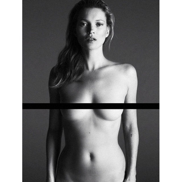So Here's a Never-Before-Seen Photo of Kate Moss