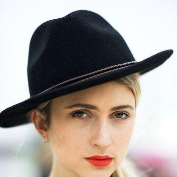 5 Street Style Takes On The Poppy Red Lip