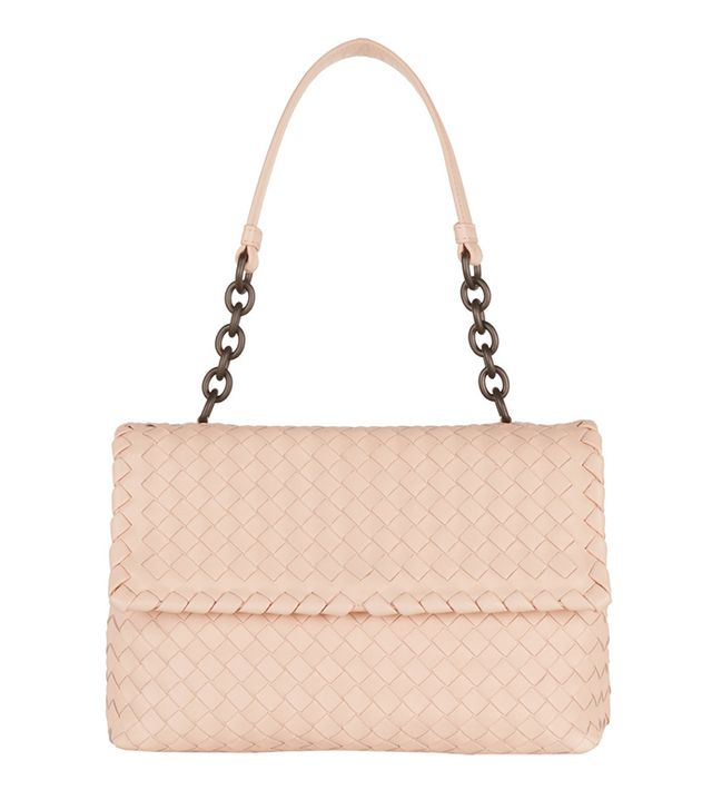Bottega Veneta Olimpio Intrecciato Leather Shoulder Bag