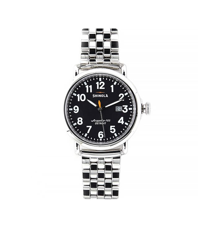 Shinola Runwell 41mm Chrono Steel Watch
