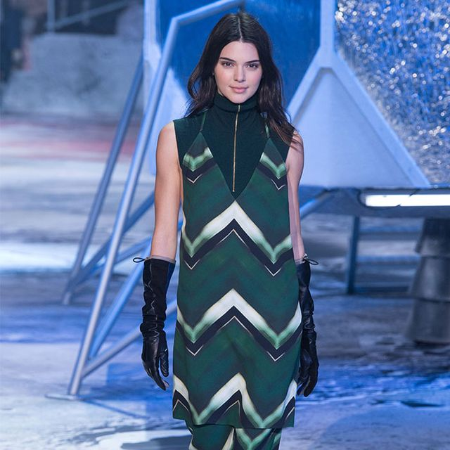 BFFs Kendall Jenner and Gigi Hadid Walk in H&M Studio Show