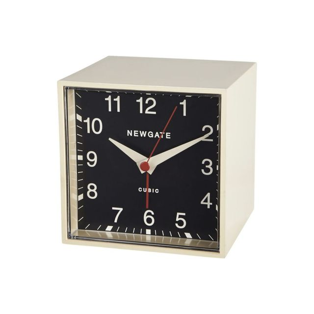 CB2 Newgate Cubic Alarm Clock