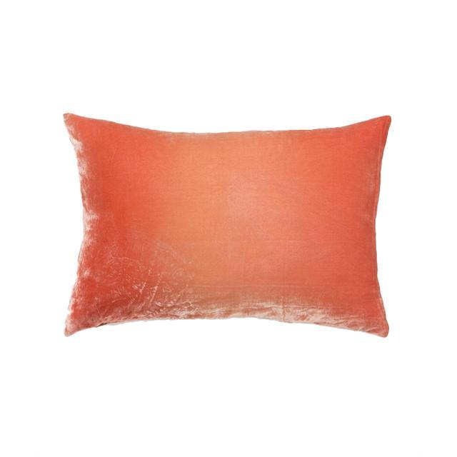 Anthropologie Ombre Velvet Pillow