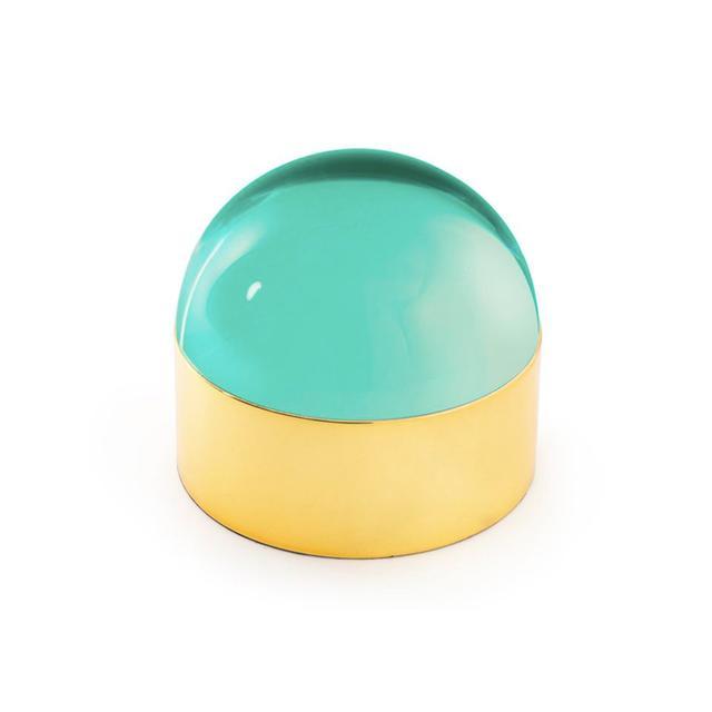 Jonathan Adler Medium Green Globo Box