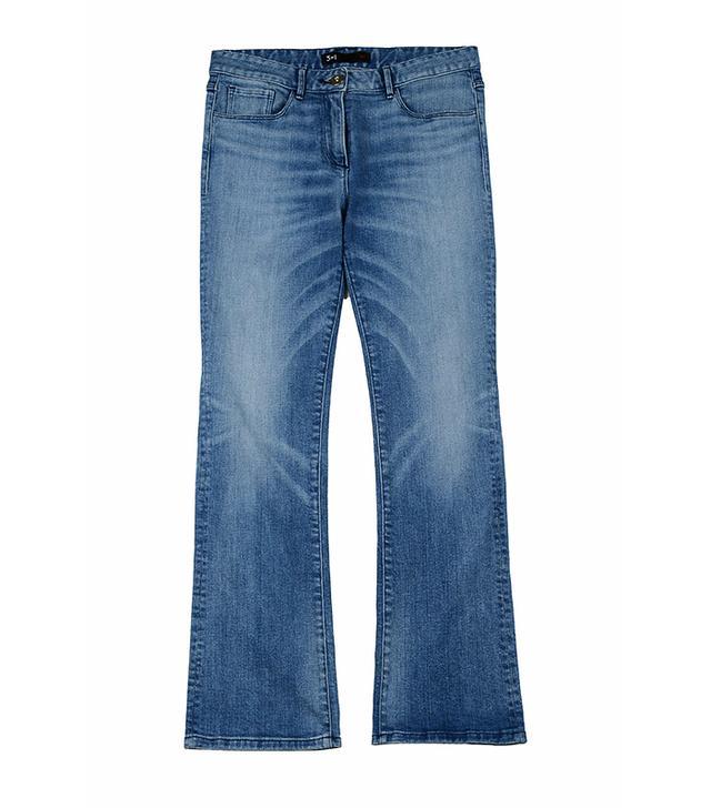 3x1 Selvedge Crop Baby Boot Jeans