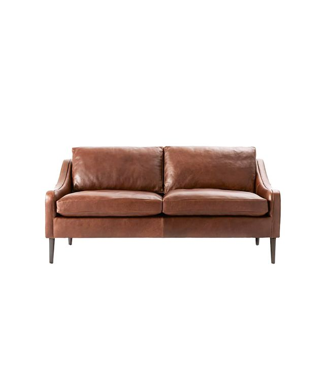 West Elm Lindrum Leather Sofa