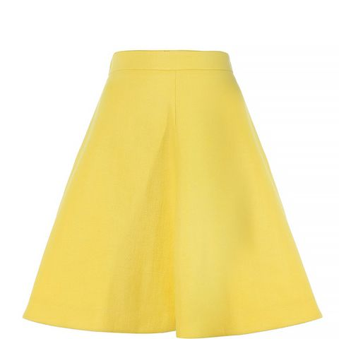Code Aline Pleated Skirt