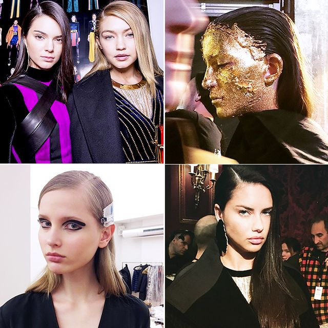 The Best Backstage Beauty Instagrams from Paris Fashion Week