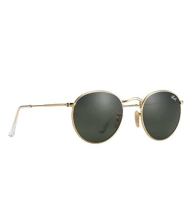 Ray-Ban Round Metal Green Classic G-15