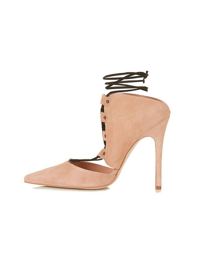 Topshop Perfect Premium Ghillie Shoes
