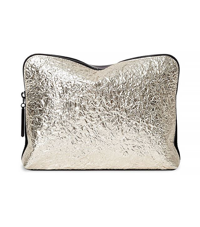 3.1 Phillip Lim 31 Minute Metallic Cosmetic Zip Case