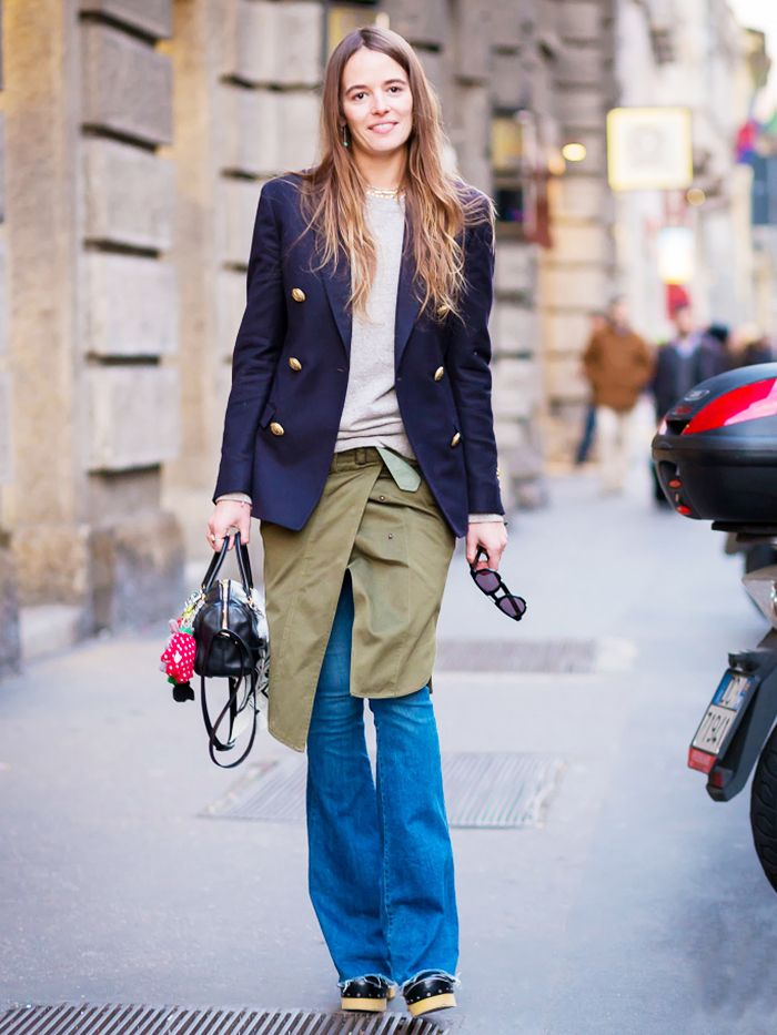 The Best Shoes To Wear With Flared Jeans Who What Wear
