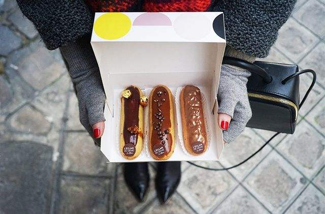 Where to gorge yourself on pastries: L'Eclair de Génie