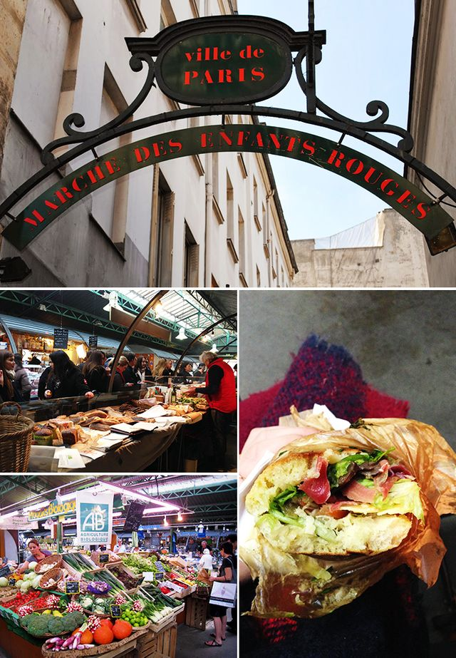 Where to eat the best sandwich of your life: Le Marché Des Enfants Rouges