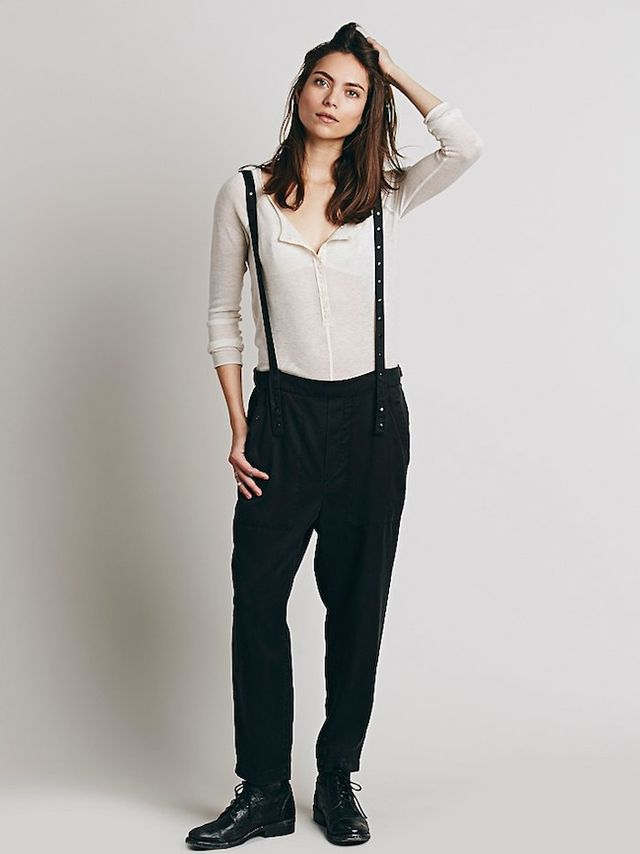 Free People Harem & Suspender Pants