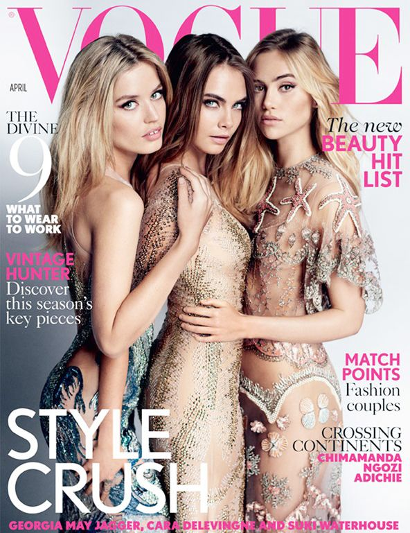 Three Major Models Are Covering the Next Issue of Vogue U.K.