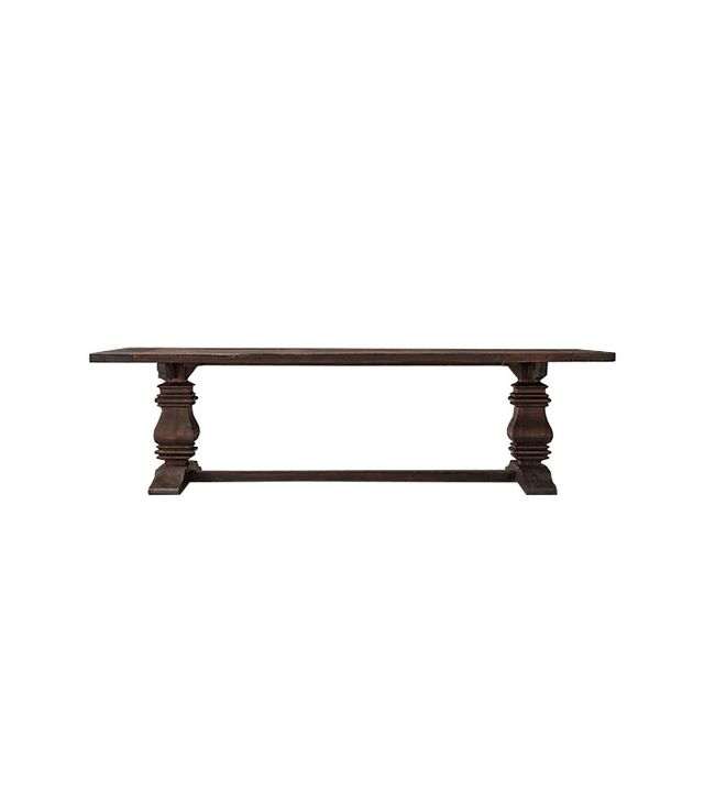 Restoration Hardware Salvaged Wood Trestle Table