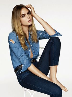 Cara Delevingne Stars in Topshop's Crazy-Cool S/S 2015 Campaign