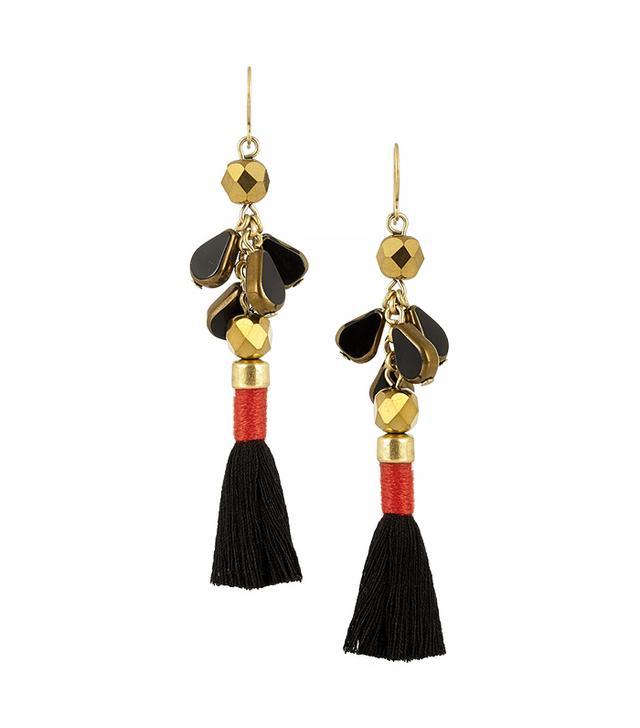 J.Crew Gold-Tone Tassel Earrings