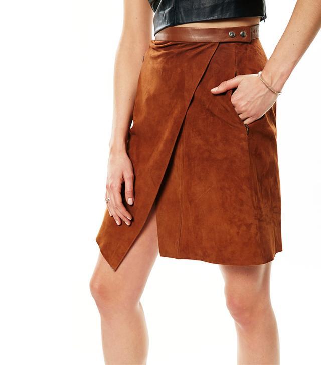 Veda Dune Suede Skirt