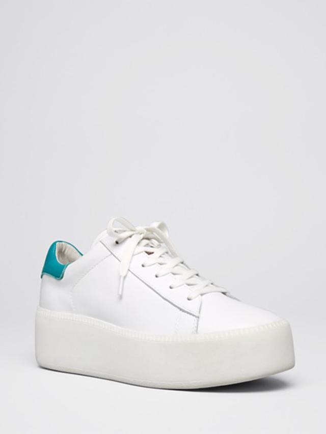 Ash Platform Lace Up Sneakers