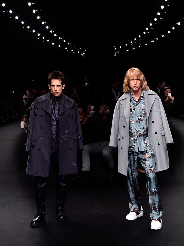 You Won't BELIEVE Who Walked the Valentino Show Today