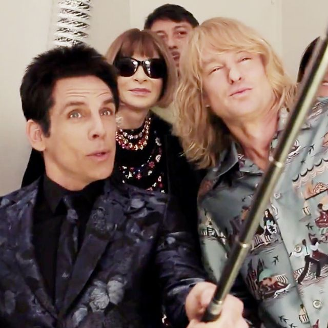 Anna Wintour Chats Backstage With Derek Zoolander and Hansel