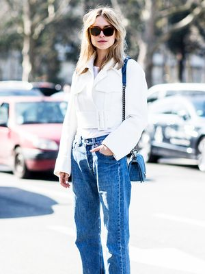 Pernille Teisbaek Shows Us a Brilliant Way to Wear the Cropped Jacket