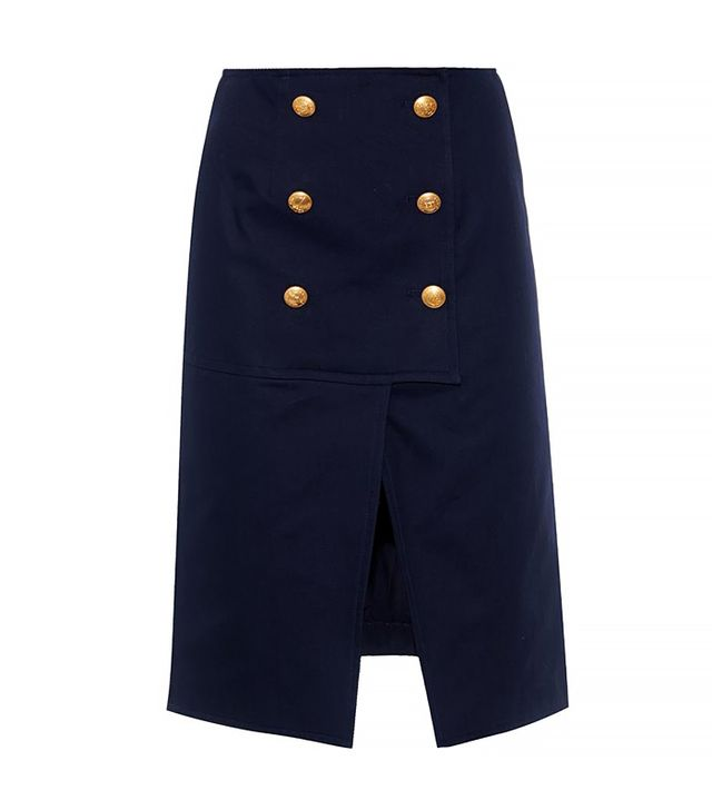 Kenzo Cotton-Twill Skirt