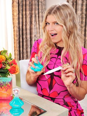 Exclusive: Fergie on Her Weirdest Beauty Secrets, DIY Hair Tricks, and More