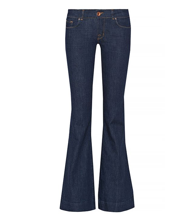 J Brand Love Story Mid-Rise Flare Jean