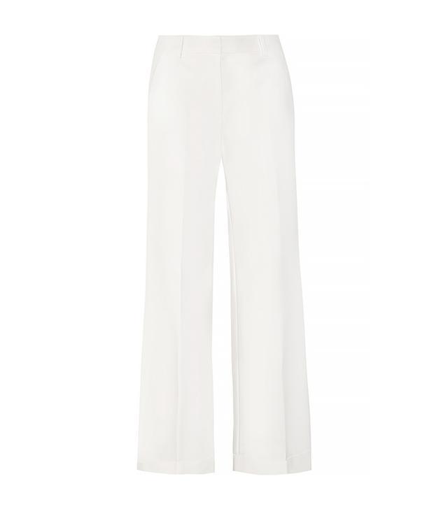 3.1 Phillip Lim Stretch-Cotton Twill Wide Leg Pants