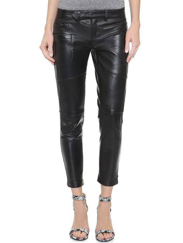 One Teaspoon Hustle Skinny Leather Pants