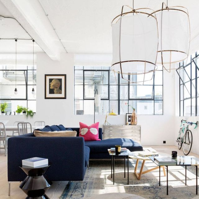 Inside a Bright London Loft With All the Right Angles