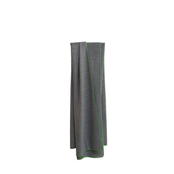 Garde Oyuna Charcoal Cashmere Throw
