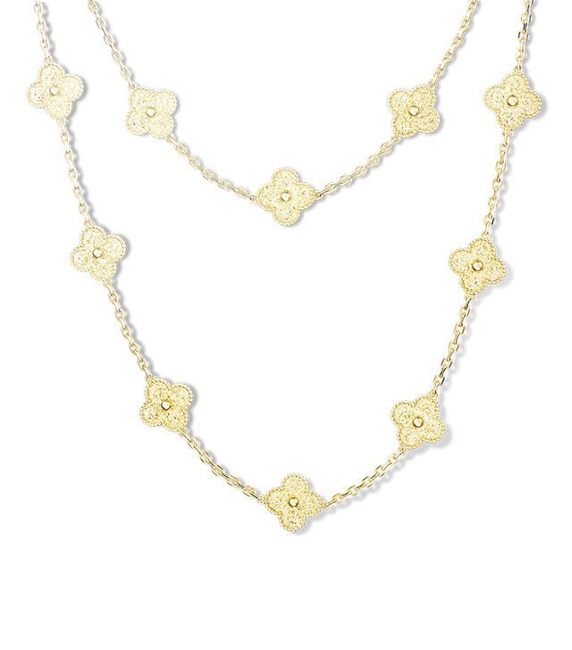 Van Cleef & Arpels Vintage Alhambra Long Necklace