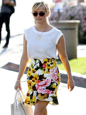 Reese Witherspoon's Spring Wardrobe is Already in Full Bloom