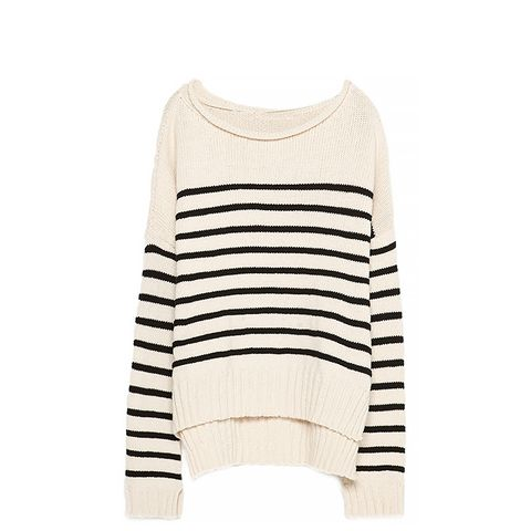 Sailor Striped Knit Sweater
