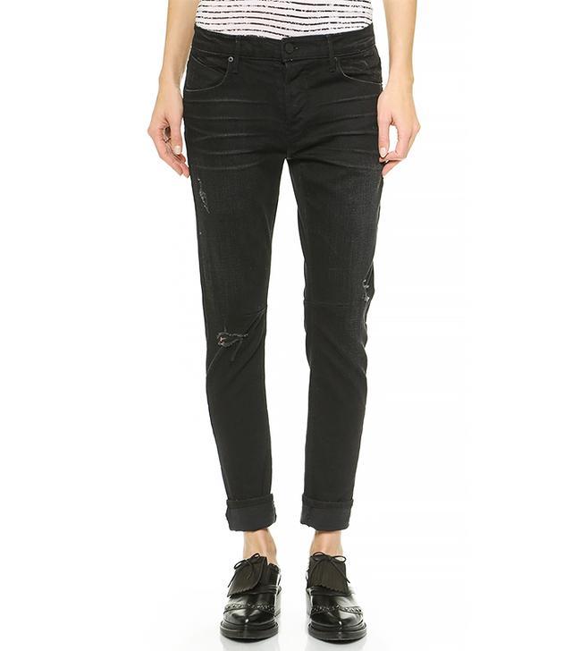 RtA Shredded Boyfriend Jeans