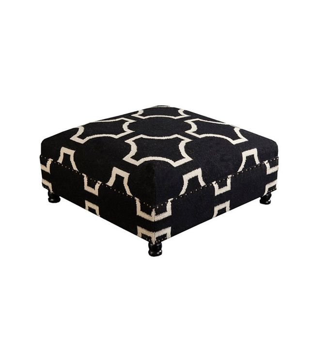 One Kings Lane Hartnett Wool Ottoman