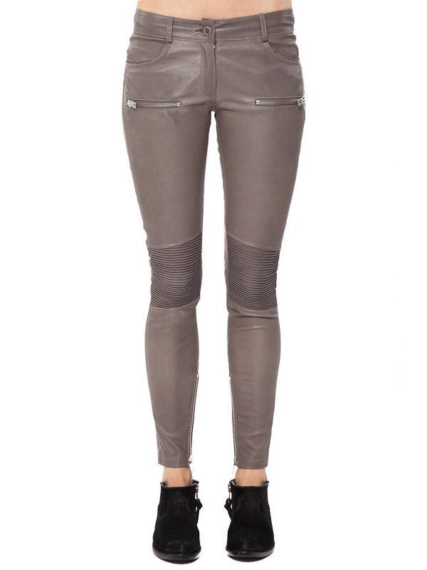 Anine Bing Moto Leather Pants
