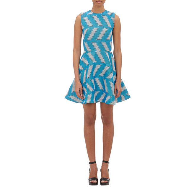 """Opening Ceremony """"Slash Pool"""" Fit-and-Flare Dress"""