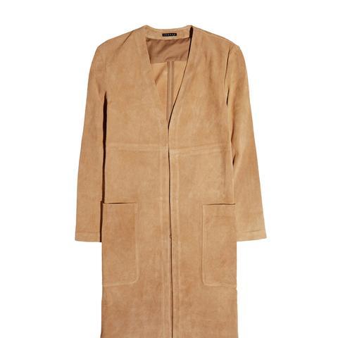 Ankan Suede Coat