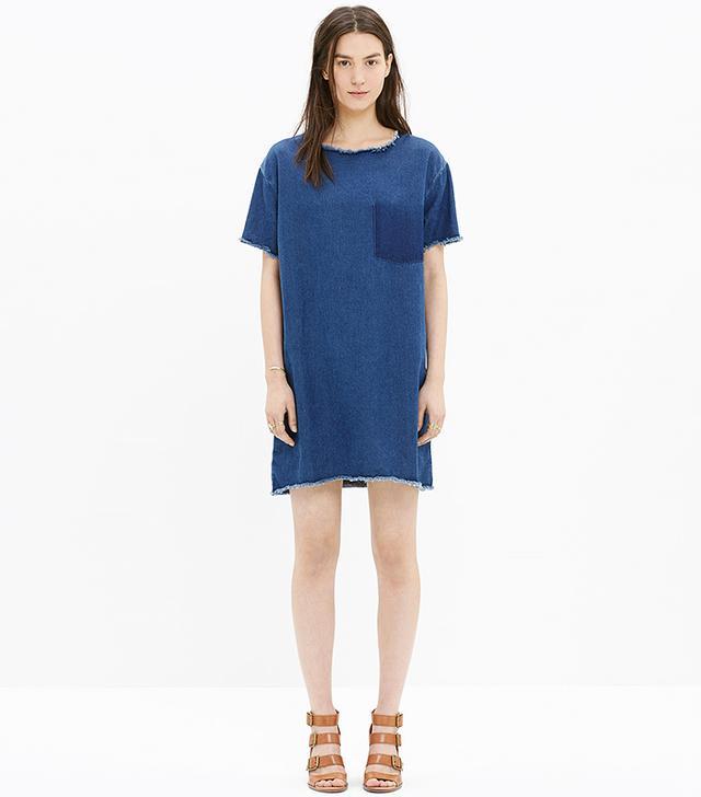 Won Hundred Blur Denim Dress