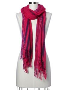 Gap  Gap Striped Tassel Scarf